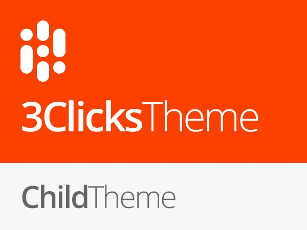 3clicks Child Theme WordPress website template