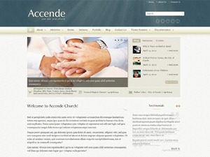 Accende Church Theme WordPress theme