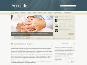 Accende Church Theme WordPress theme