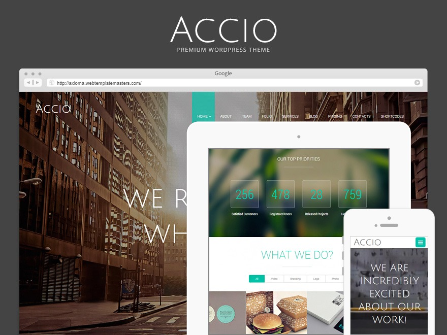 Accio theme WordPress