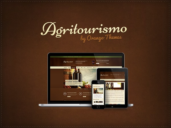 Agritourismo Premium Theme WP template