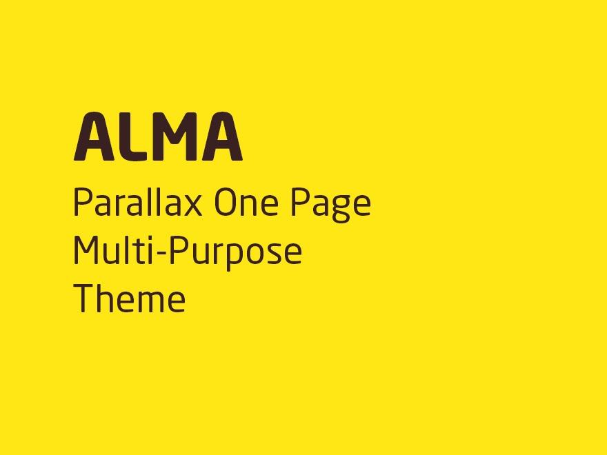 alma theme WordPress