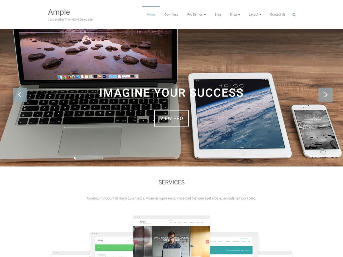 Ample theme free download
