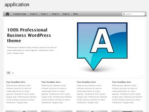 application company WordPress theme