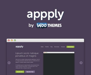 Appply WordPress website template
