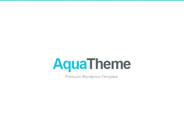 Aqua best portfolio WordPress theme