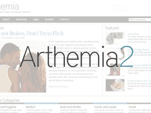 Arthemia WordPress magazine theme