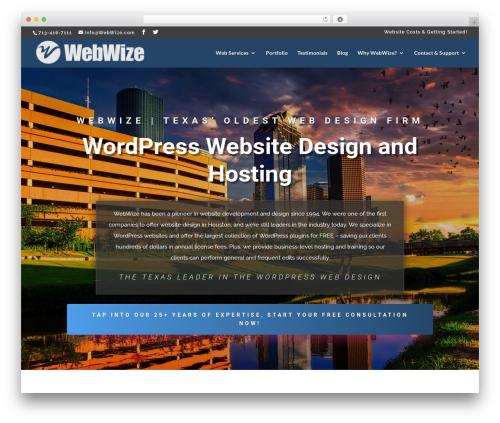 Aspen Roots best WordPress theme - webwize.com