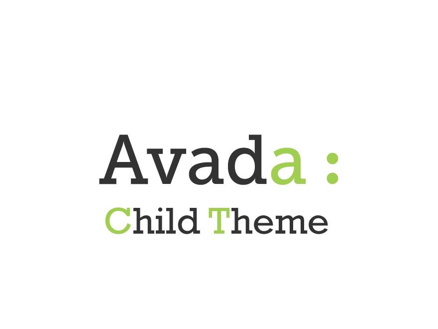 Avada Child Theme WordPress theme design