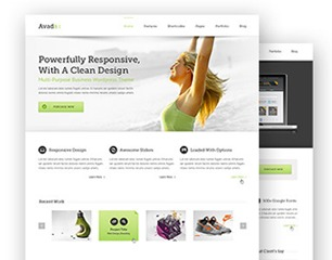 Avada Child WordPress website template