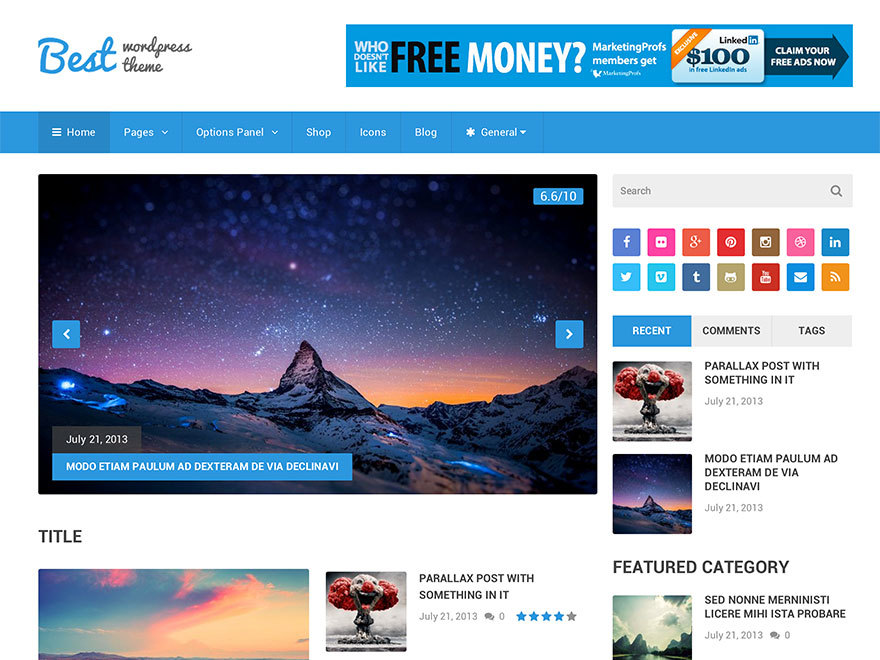 Best by MyThemeShop WordPress shop theme