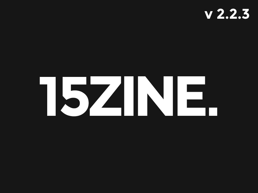 Best WordPress template 15zine