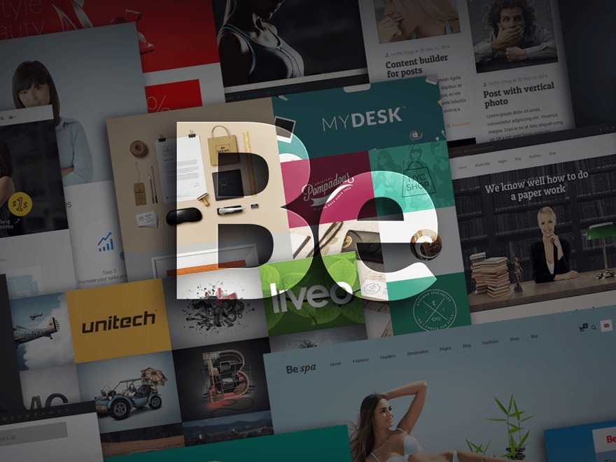 Best WordPress template Betheme (shared on wplocker.com)