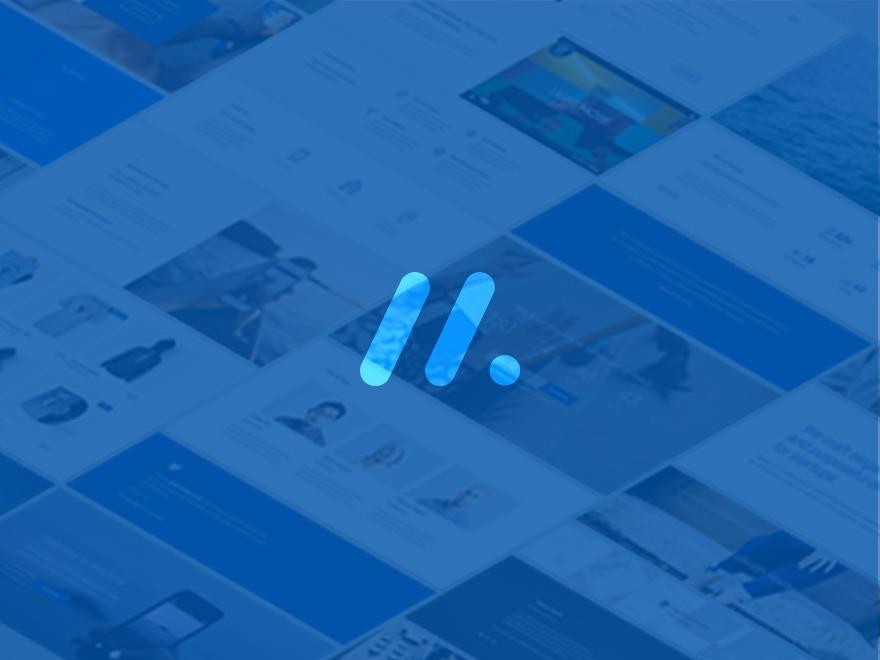 Best WordPress template Machine WP