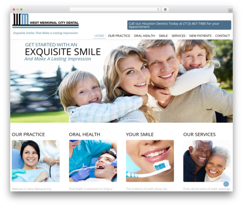 Free WordPress WP Responsive Menu plugin - westmemorialcitydental.com