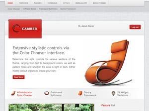 Best WordPress theme Camber