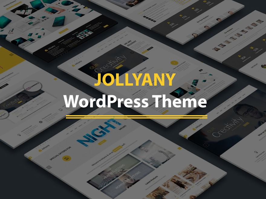 Best WordPress theme Jollyany