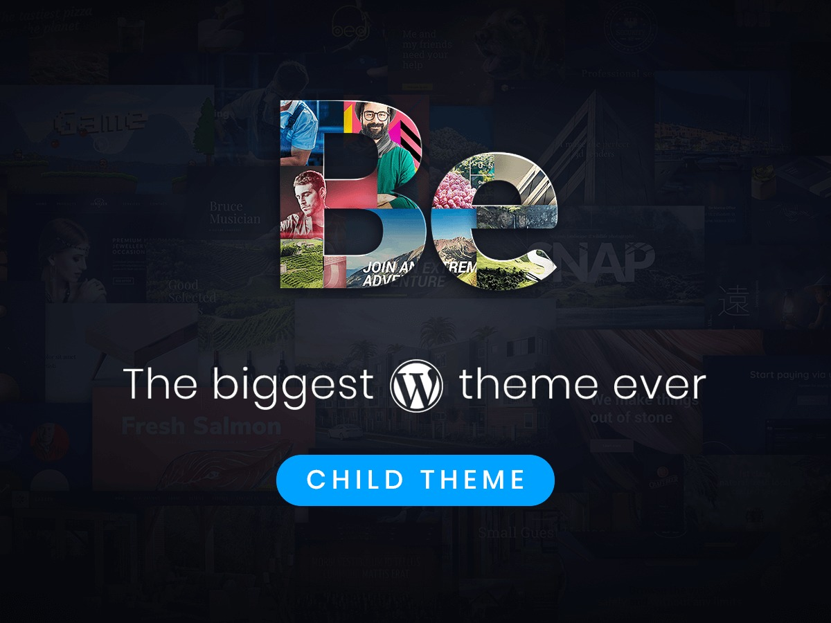 Betheme Child best WordPress theme