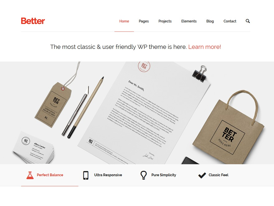 Better business WordPress theme