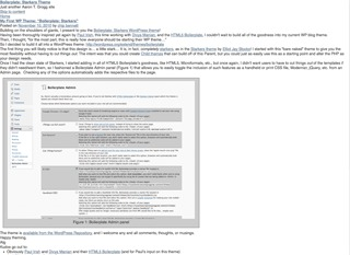 Boilerplate template WordPress