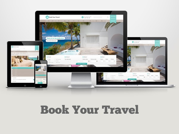 BookYourTravel business WordPress theme