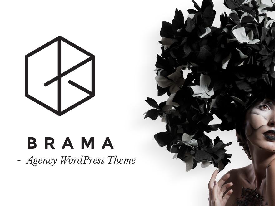 Brama best WordPress template
