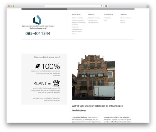 Brandspace best WordPress template - woningenbedrijfsontruiming.nl