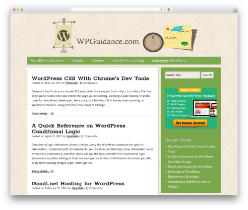 Builder top WordPress theme - wpguidance.com
