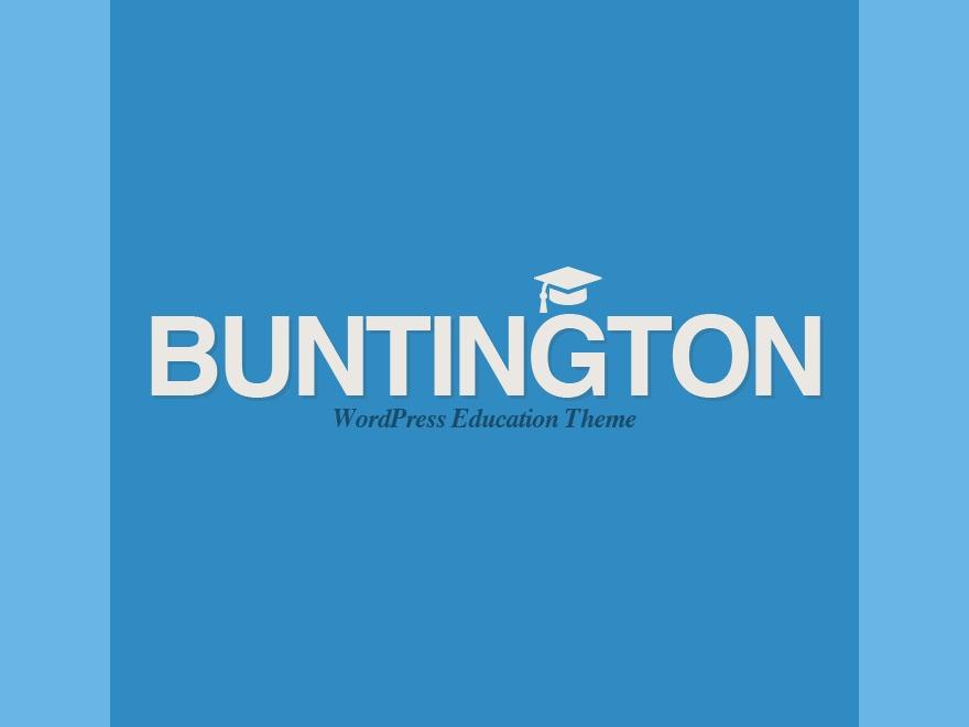 Buntington WP template