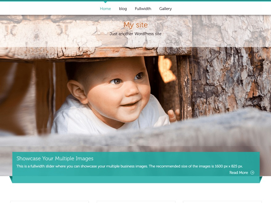 ButterBelly free website theme