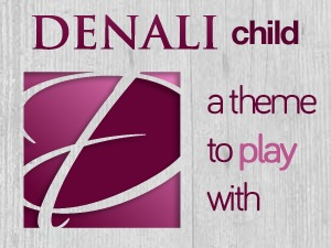 Child Theme for Denali WP theme