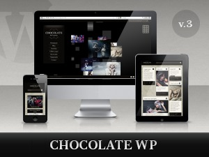 Chocolate WP WordPress blog template