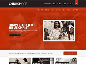Churchope business WordPress theme