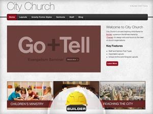 City Church best WordPress theme