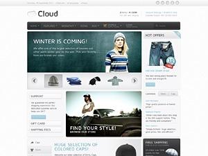 Cloud WP theme