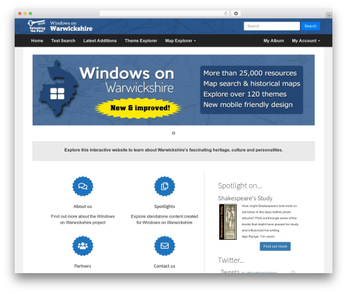 Compose WP WordPress website template - windowsonwarwickshire.org.uk
