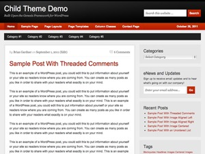Copyblogger Child Theme WordPress blog theme