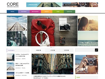 CORE WP theme
