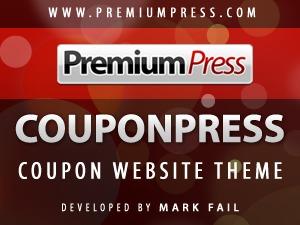 couponpress theme WordPress