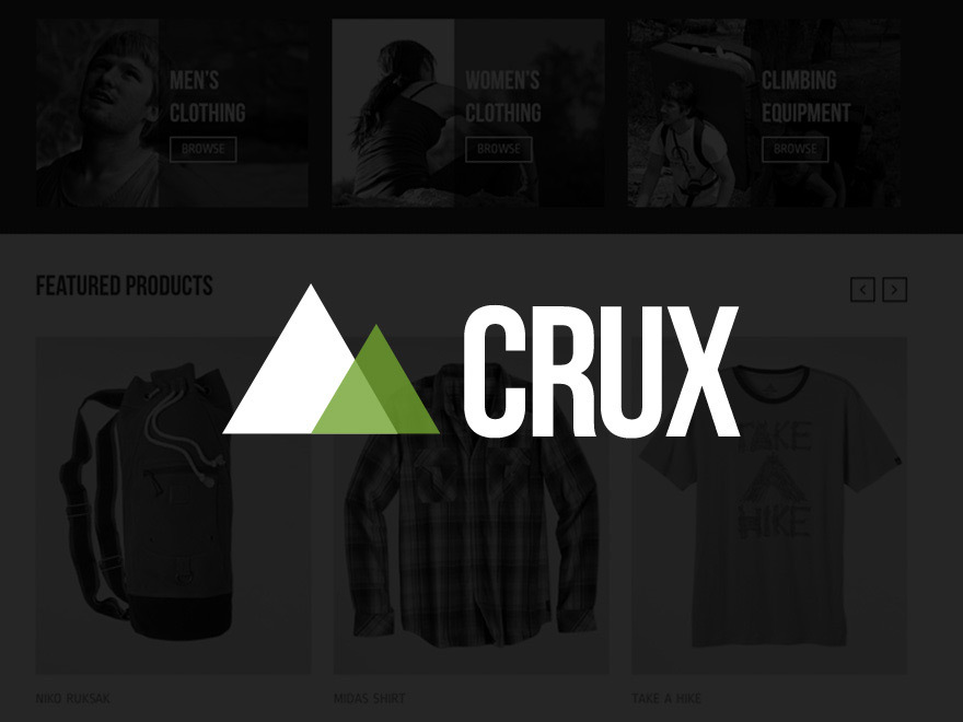 Crux best WooCommerce theme