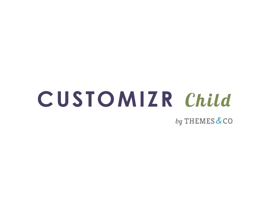 Customizr Child template WordPress