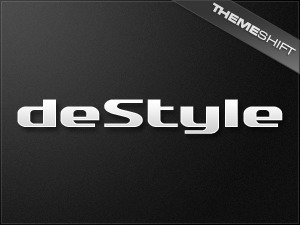 deStyle WordPress blog template