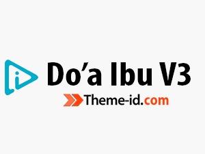 Doa Ibu WordPress theme design