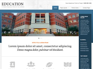 Education Child Theme theme WordPress