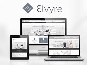 Elvyre - Retina Ready Wordpress Theme WP template