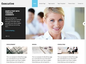 Executive Child Theme best WordPress theme