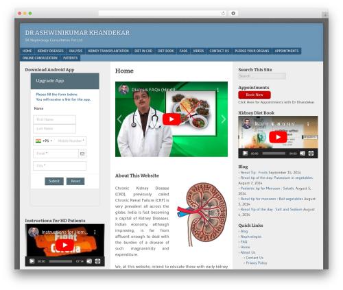 Free WordPress WordPress Social Login plugin - wp.kidneyadvice.net/wordpress