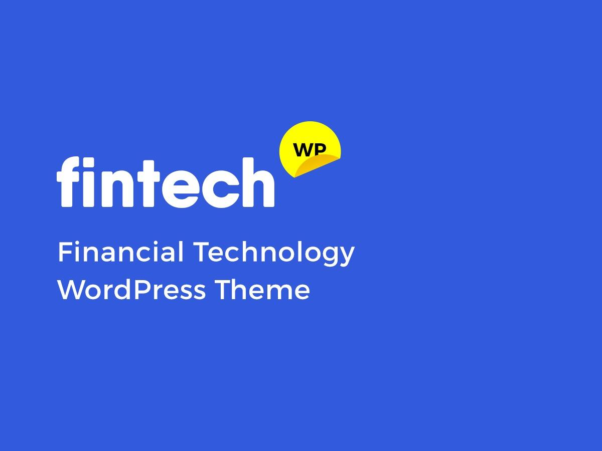 Fintech WP theme WordPress