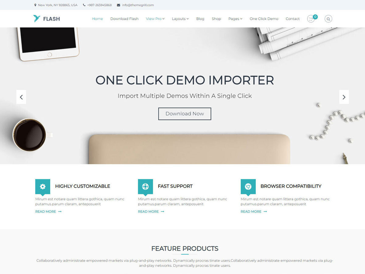 Flash theme free download