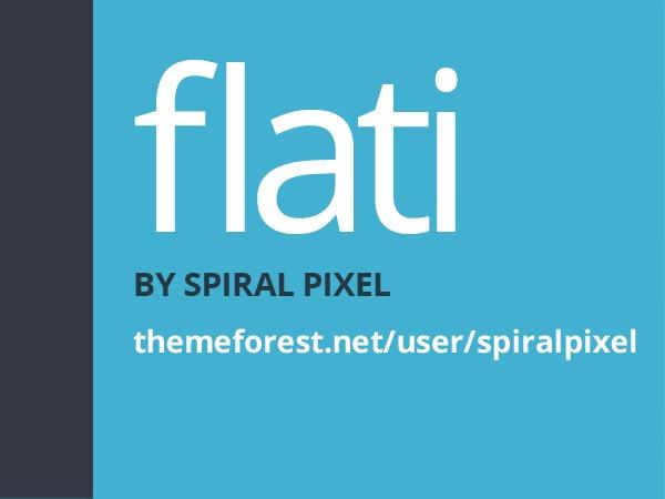 Flati Bootstrap Wordpress Theme WP template